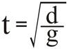 t=sqrtt_g